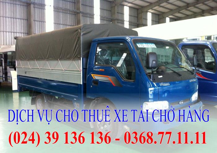 Dịch vụ cho thuê xe tải - Xe 2,4 tấn