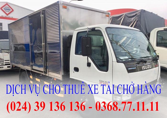Dịch vụ cho thuê xe tải - Xe 1,5 tấn