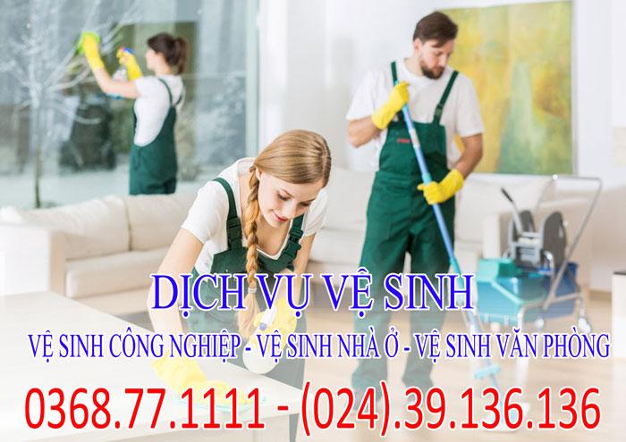 Dịch vụ vệ sinh nhà ở - vệ sinh văn phòng - Vệ sinh công nghiệp